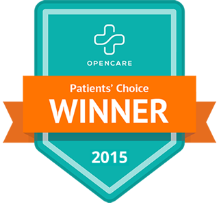 2015 Opencare Patients' Choice Winner
